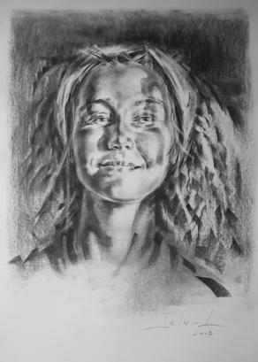 Portrait Young Woman_II