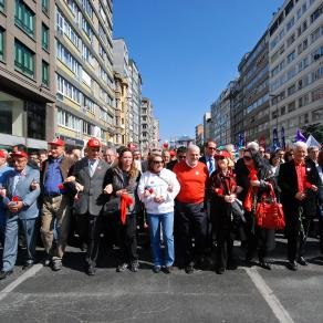 1.May march towards Taksim Square