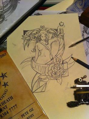 """Tattoo Art """"SEVEN"""""""