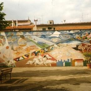 Murales. I sogni degli anziani