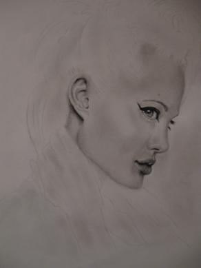Angelina jolie in progresso....