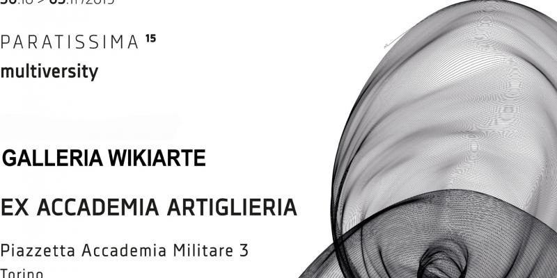 Wikiarte Gallery - Paratissima Torino Fair from October 30th to November 3rd 2019
