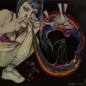 """from the series : """"Habits - follow The Rainbow not the Whiterabbit"""" . Rainbow I : playing Chess wit"""