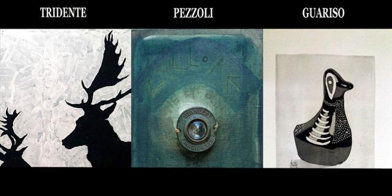 Vernissage personal exhibitions of Tridente, Pezzol, Guariso presents Denitza Nedkova