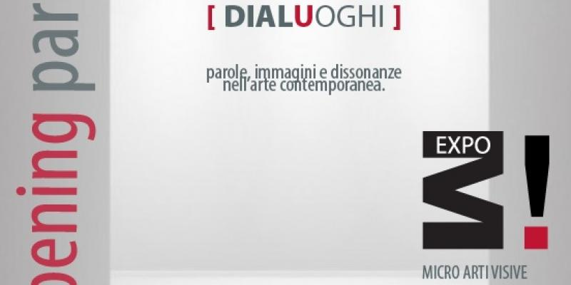 DIALUOGHI:  words, images and dissonance in contemporary art.