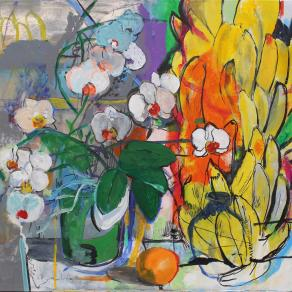 Orchid and Bananas