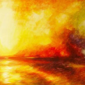 Incendio sul mare