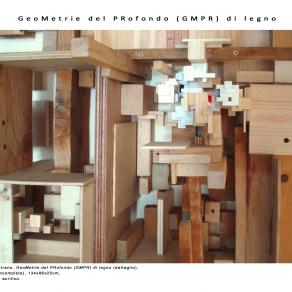 GMPR di legno (incompleta), particolare
