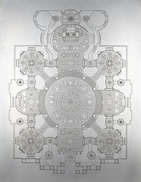 IVD/03122012-03062013 [Rost auf Metall 110cmx86cm]