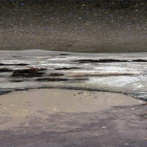berlin lake in the desert