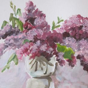 lilac in the jar
