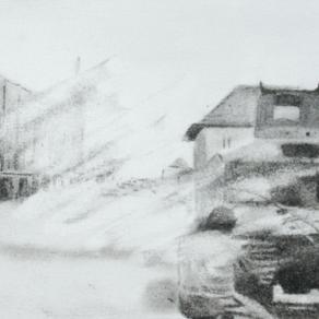 Erased drawing(Surabaya Accident,10 Noember 1945)