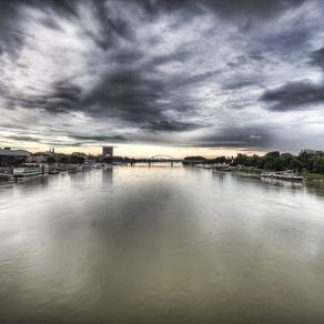 Il Danubio a Bratislava