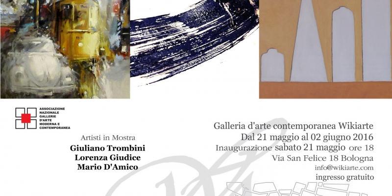 Show Giuliano Trombini  Lorenza Giudice, Mario D'Amico presents Francesca Bogliolo