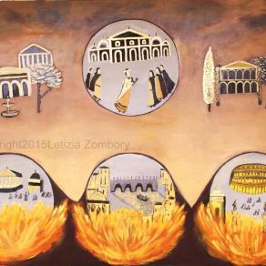 Nero set Rome on fire