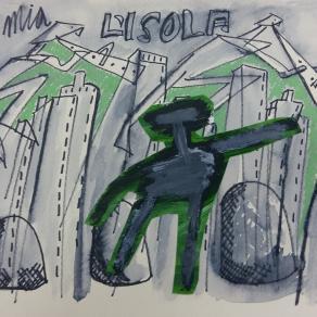 "Francesco Magli - Serie ""Isola"" - 2009 Opera 104"
