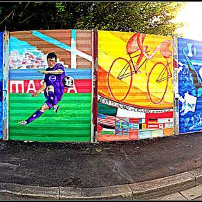 Murales a tema sportivo