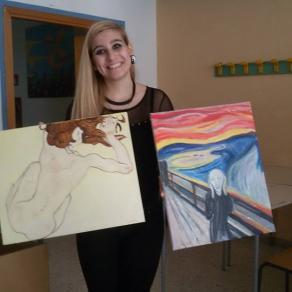 Schiele e Munch