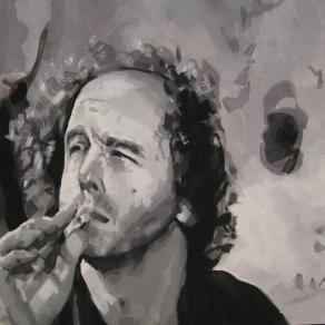 Steven Wright in Coffee and Cigarettes