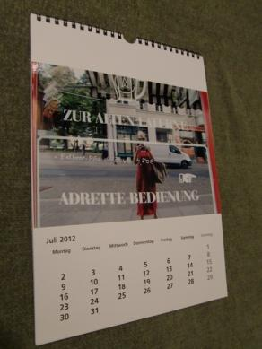 Calendario Walters 2012 luglio (leggi intera descr. cliccando la foto!)