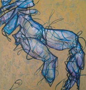 calma urbana (n IX della serie butterfly and hurricane)