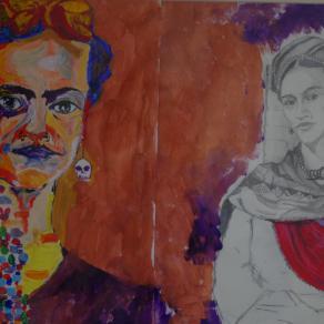 le due anime di Frida