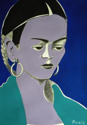 Ritratto di Frida Kahlo