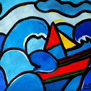 Mare mosso - Rough sea