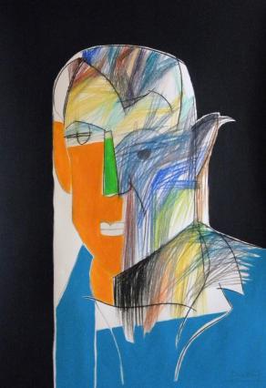 Ritratto di Pablo Picasso / Portrait of Pablo Picasso
