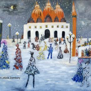 Piazza San Marco di neve