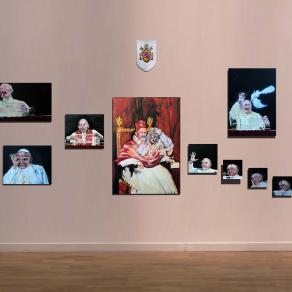 Ipotesi d'opera (studi per un ritratto al tempo dei due papi)
