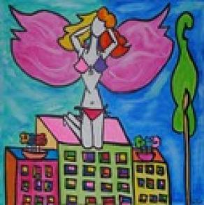 angelo sui palazzi