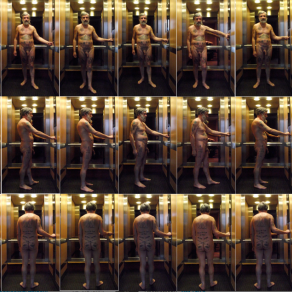 The Nude Taking the Lift