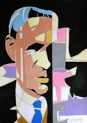 Ritratto di Giorgio Morandi / Portrait of Giorgio Morandi