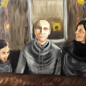 Copenhagen - Family portrait at Ved Kajen
