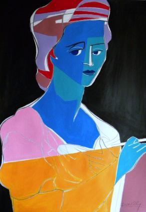 Ritratto di Angelika Kauffmann / Portrait of Angelika Kauffmann