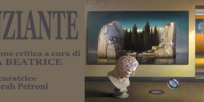 Personal exhibition Antonio Nunziante presentation by Luca Beatrice