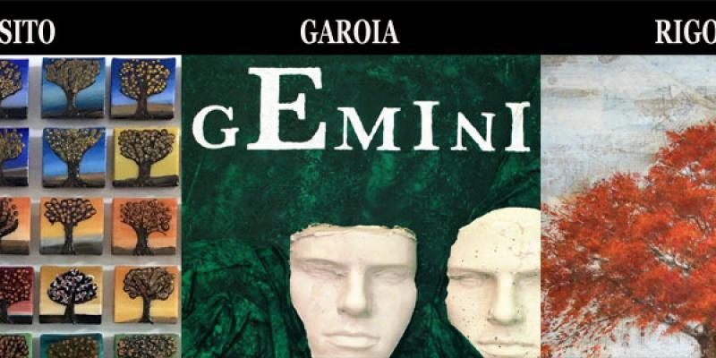 Opening of personal exhibitions of: MARIO EXPOSED ENRICO GAROIA PAOLO RIGONI