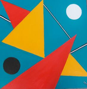 Astratto geometrico Nr. 3
