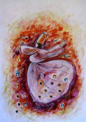 Dervish Dance Illustration
