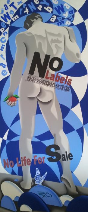 No Labels . . . . . No Life For Sale