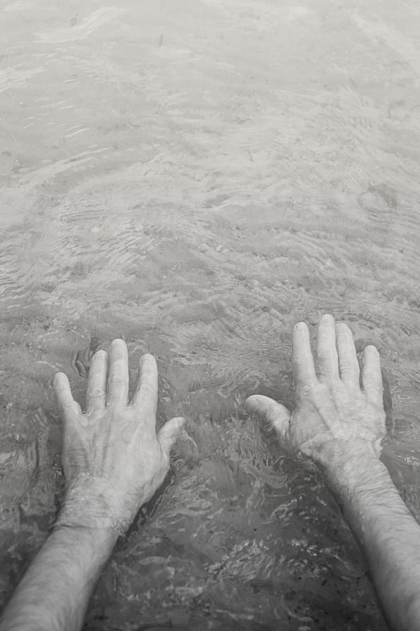 Dip your hands