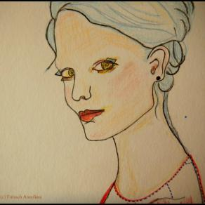 Emotional Woman by Fritzsch Anneliese