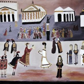 Il bambino di Cesare e Cleopatra a Roma
