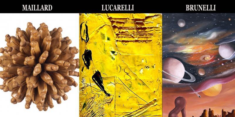 Solo exhibition of Vincent Maillard, Antonio Lucarelli Clara Brunelli presents Giorgio Grasso