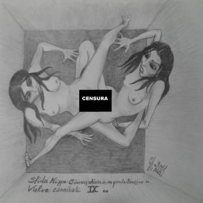 Vulve cannibali IX (CENSURATE) - Sfida Nippo-cinese; chiuse in un piccolo stanzino